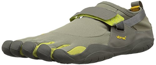 - Vibram Men's KSO Grey/Palm/Clay Cross Trainer, 7-7.5 M D EU (38 EU/7-7.5 US)