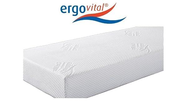 ergovital ergowell Visco colchón de Espuma con Espuma a frío y MICROT Asche Muelles 100 Puntos de Test LGA, tamaño: 140 x 200 cm, dureza: H2: Amazon.es: ...