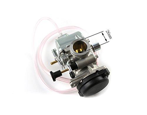 26mm ingesta Carburador Carb EN125Motor 125cc 45mm Filtro de Aire de tercera generación Suzuki Motorcyle Suciedad y...