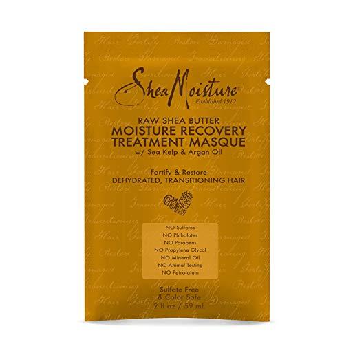 Shea Moisture Raw Shea Butter Deep Treatment Masque Packet's, 2 Ounce ()