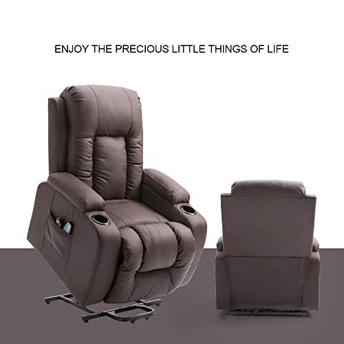 Best Massage Recliner Chair 4homart Electric Power Lift