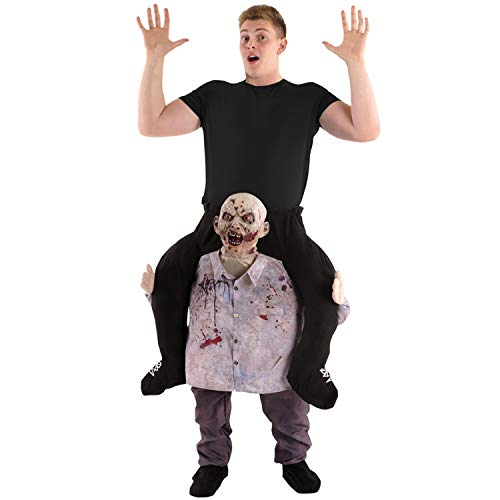 Morph One Size Fits Most Piggyback, Zombie, -