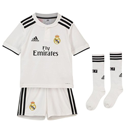 adidas 2018-2019 Real Madrid Home Mini Kit (Shirt Home Kit)