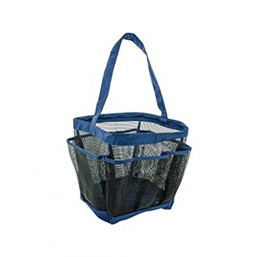 New JT Bed & Bath Mesh Shower Caddy with 8 Side Pockets (1 Pack) for cheap