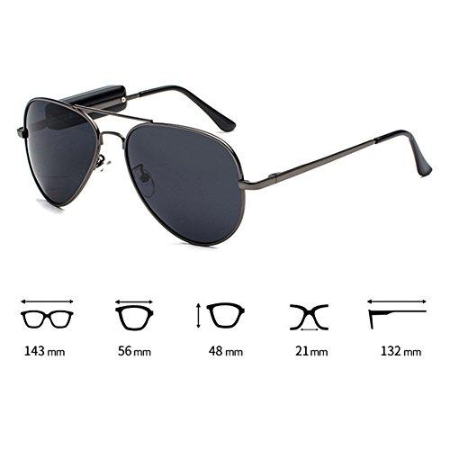 juqilu inalámbricos para exteriores Música Sunglasses teléfonos Auriculares Mic Auriculares Gafas para con Stereo Bluetooth móviles Polarized C2208 Auriculares ORrHqwO