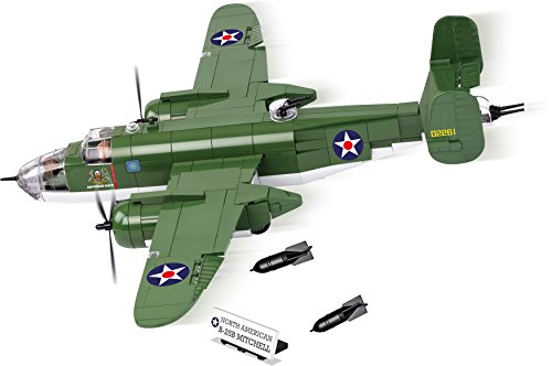 COBI Small Army B-25 Mitchell Bomber Plane Building Kit