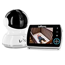 "Levana® Keera(TM) 3.5"" Pan/Tilt/Zoom Digital Baby Video Monitor with Picture/Video Recording"