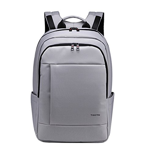 KOPACK Laptop Backpack Slim Business Travel Backpack Bag Pack 17 16 inch Grey Computer Daypack Deluxe Water Resistant KP516