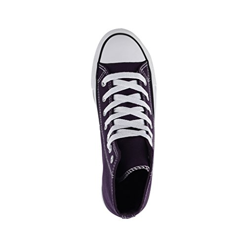 Top Purple Kult Unisex Fällt Eine Textil Elara Schuhe Sneaker Nummer Sportschuhe High für Größer Herren Bequeme Damen Chunkyrayan Aus und Basic wv56xB