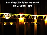 PS DIRECT PRODUCTS Lighted Yellow Caution Tape with