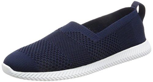 Chaussures Pour Hommes Les Chaussures Spannos Paddington Bleu / Yeti Blanc