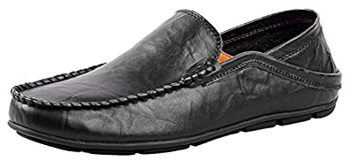 20138 Slip-on Mens Casual Genuine Leather Loafers Sneakers