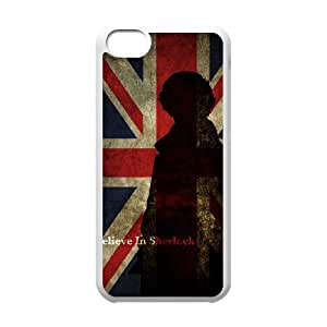 iphone5c phone cases White Sherlock cell phone cases Beautiful gifts YWRD4667263