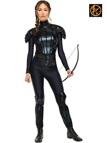 Rubie's Costume Co Women's The Hunger Games Deluxe Katniss Costume, Multi, Large (Hunger Games Custome)