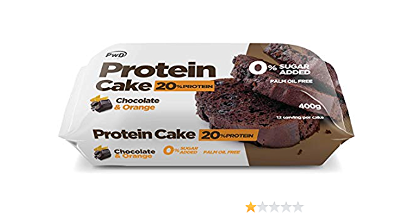 Protein Cake 400gr (Chocolat à lorange): Amazon.es: Salud y ...