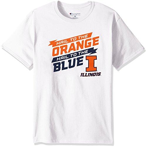 - NCAA Men's Champ Short Sleeve Local T-Shirt Illinois Illini Medium