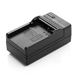 Powerextra 4 pack Replacement Canon LP-E8 Battery For Canon Rebel T5i T4i T3i T2i DSLR Digital Camera With Charger for Canon LP-E8 Replacement of LC-E8E