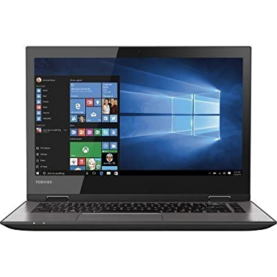 "Toshiba Radius 14"" Touch-screen Laptop - 5th Gen Intel Core / 6GB Memory / 500GB HD/ Webcam / Windows 10 Brushed Black/Brushed Metal"