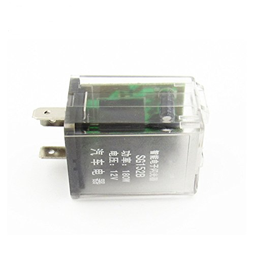 Shenlang 3 Pins Electronic LED Flasher Relay for Motorcycle Turn Signal Blinker - Volusia Mall