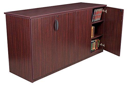 Regency Mahogany Cabinet (Regency Legacy 72-inch Storage Cabinet Buffet- Mahogany)