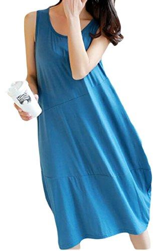 Dress Tunic Women Sleeveless Dresses Tshirt Casual Jaycargogo Tank Summer 4 Mini 7q1zUSS