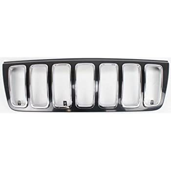 OE Replacement Jeep Cherokee//Wagoneer Grille Assembly Partslink Number CH1200221