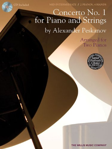 Concerto No. 1 for Piano and Strings: National Federation of Music Clubs 2014-2016 Selection Arranged for Two Pianos