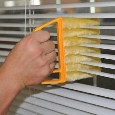 - Microfibre Venetian Blind Blade Cleaner Window Conditioner Duster Clean Brush