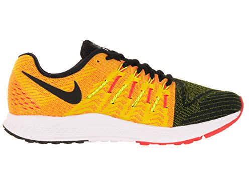 outlet cheap price discount great deals Nike Air Zoom Elite 8 Men's Running Shoe Black/Yellow/Volt/Total Crimson buy cheap big discount dierbNTz
