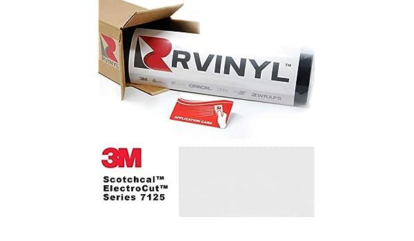 3 M 7125 mate blanco 20 Scotchcal hoja de película rollo de vinilo gráfico – para, Silhouette Cameo CriCut, Craft y cortadores de señal: Amazon.es: Juguetes y juegos