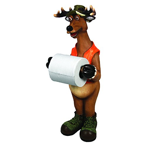 Rivers Edge Products Standing Deer Toilet Paper Holder