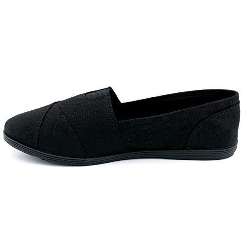 Soda Women Oggetto Flats-shoes New Black / Black