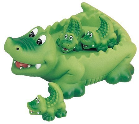Playmaker Toys Alligator Family Bath Toy - Floating Fun! ()