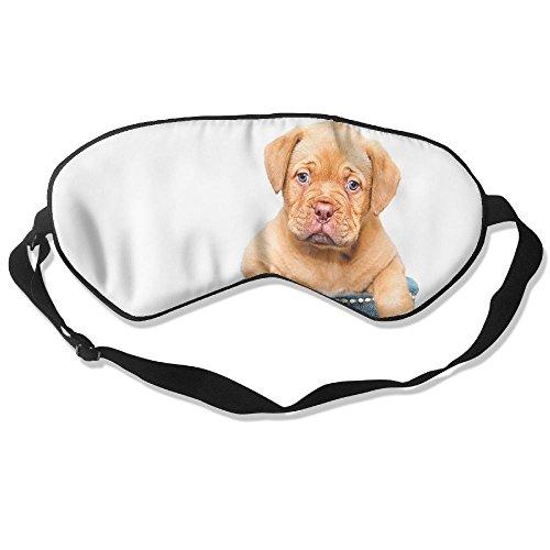 Teesofun Comfortable Sleep Eyes Masks Sand Dog In Shoes Design Sleeping Mask For Travelling, Night Noon Nap, Mediation Or Yoga
