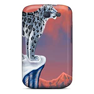 Hot Leopard First Grade Tpu Phone Case For Galaxy S3 Case Cover