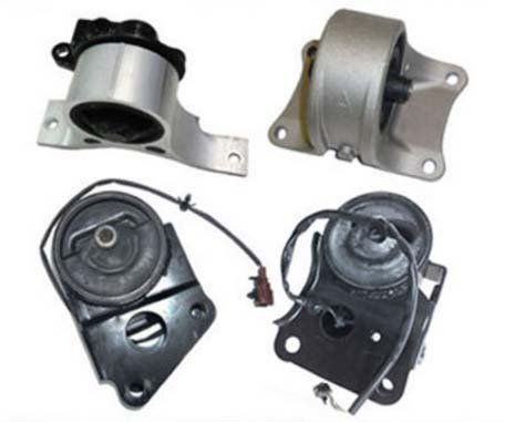 (M009 7349EL 7358EL 7348 7347 Nissan Front & Rear & Right & Transmission 3.5L Set 4pcs Engine Motor Mount Altima Quest 02 03 04 05 06 07)