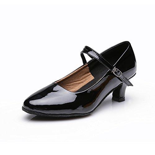 de Femme pour Hauts Danse Noir Talons VASHCAMER Chaussures Sandales wn1z507q
