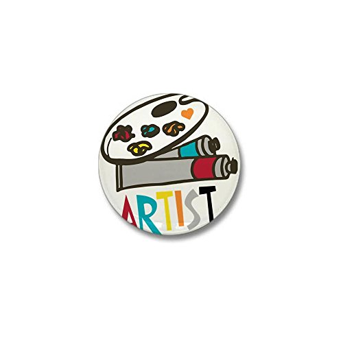 CafePress Artist Mini Button Round