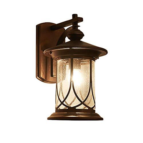 Retro Wall lamp, Industrial Lighting Metal Wall lamp, Indoor lamp (Single lamp Primer Oiled Bronze)