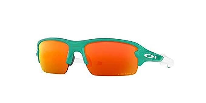 ba11ec63b6 Oakley Flak XS Sunglasses Celeste Prizm Ruby Polarized   Carekit Bundle