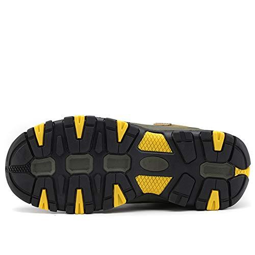BOTEMAN Chaussures de Randonnée pour Femme et Homme Bottes de Trekking en Plein Air Imperméable Respirant Antidérapant… 5
