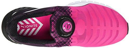 Puma Ignite Dual Disc WNS - Zapatillas de Entrenamiento Mujer Rosa (Pink/Black/White 02)