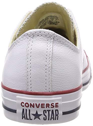 Chuck 3 blanc Sneaker Converse Ox Bianco Donna 246270 55 Lea Core Taylor gfqw01d