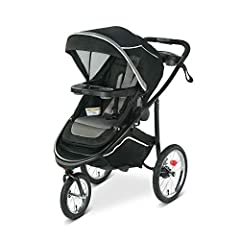 Graco Modes Jogger 2.0 Jogging Stroller gives you 7 ways to ride plus everything you need to jog, now with improved maneuverability for easy navigation. This jogging stroller has all the comfort and convenience features you need: air-filled r...
