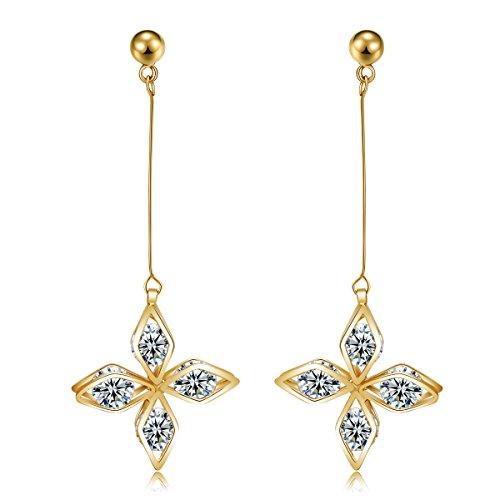 Coral Ruby Earrings - 6