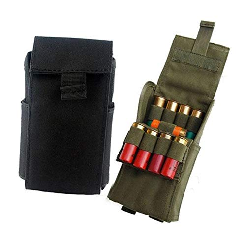 Best Quality - Pouches - Hunting 25 Round 12GA 12 Gauge Ammo Shells Reload Magazine Storage Pouches Bag Bandolier Bullet Holder Tactical Airsoft Kit - by DINAX - 1 PCs