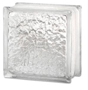 Quality Glass Block 8 x 8 x 4 IceScapes Glass Block