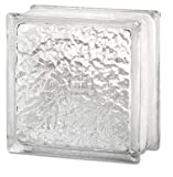 glass shower blocks 8 x 8 x 4 IceScapes Glass Block