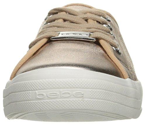 Bebe Femmes Dane-l Mode Sneaker Rose Gld Fx