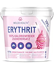 Eritritol 4.5 kg edulcorante sin calorías - Natural y Bajo en Calorías